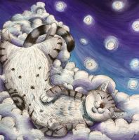 Benny on a Cloud by Noxx-ious
