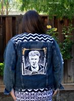 David Lynch back patch (themed jacket) by RocknessMonsta