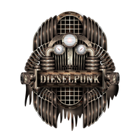 Dieselpunk Label (real dirty) by IllustratorG