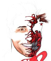 Jim Carrey as Carnage, WIP by LangleyEffect