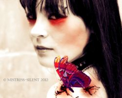 Not only a butterfly II by Mistress-Silent