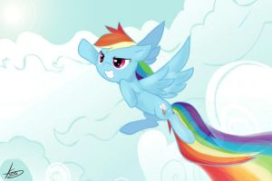 Rainbow Dash !! by Marenlicious