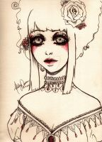 Victorian Elegance by AshleyRoseArt