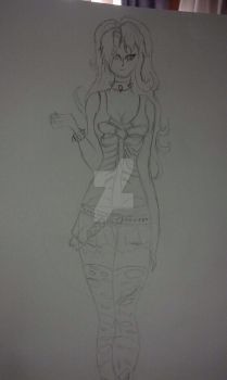 Wild- Punk outfit. by WildHellsing