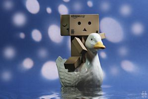 "Danbo in ""Swan Lake"" by Brigitte-Fredensborg"