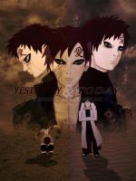Gaara - Yesterday and Today by bargiegaara