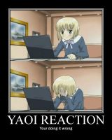 Yaoi Reaction by Alicehime21