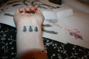 trees tattoo by lemaddy