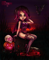 2013 Halloween Lineart By Jadedragonne Reloaded by Suiish