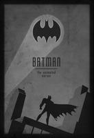 Batman: The Animated Series Minimalist Art II by Vali-Ent