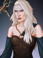 Vada Lavellan by Merwild