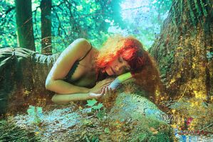 sleeping_in_the_woods by 13-Melissa-Salvatore