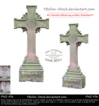 Cross with ornaments by YBsilon-Stock