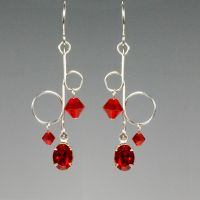 Red Dangle- SOLD by YouniquelyChic