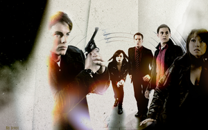 Torchwood Wallpaper by Nejjington