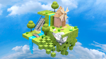 Moulin floating island by DRLM