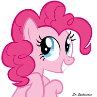 Pinke loves to make you smile by SirSpikensons