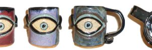 Eye Cup #20 by aberrantceramics