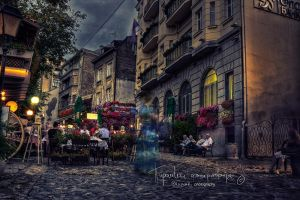 Ghost of Skadarlija's past by Piroshki-Photography