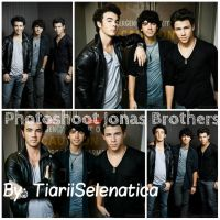 PEDIDO:  Photoshoot De Jonas Brothers by TiariiSelenatica