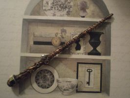 steampunk wand by Reyndrys