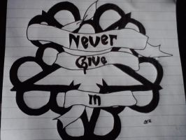 Never give in by annijace