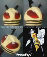 Beedrill Hat by TwistedFayt