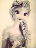 Elsa :) by Whiskers-the-Cat