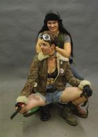 Tank Girl and Jet Girl! by InKibus