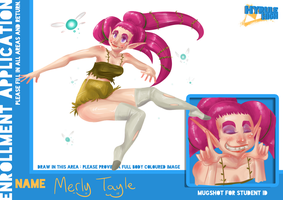 Hyrule High App- Merly Tayle by Neriah