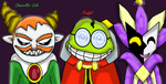 Gift For Chancellor Cole, Fawful, and Dimentio by Ask-Reala
