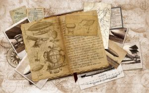 Old Dirigibles Journal by rjDezigns