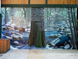 Hyde Creek Nature Murals by Artist-Kim-Hunter