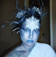 The Ice Woman Cometh by badtothebonechick13
