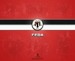 Feda Red Theme Wallpaper by eaglelegend