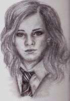 Hermione Granger by LeahRosslyn