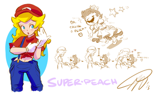 Super Peach by LillayFran