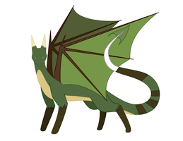 Archimedes the dragon by moonlightartistry