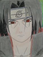 Itachi Uchiha - color by JamesUchiha
