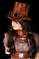 steampunk girl by Lagueuse