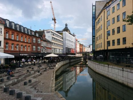 Aarhus canal by And1945