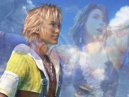 Tidus Yuna 2 by bethahnee