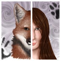 AP Art: Maned Wolf by LadySilvie