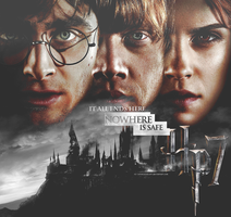 Harry Potter deathly hallows by LeweLeweLoff
