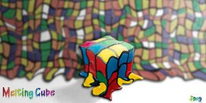 melting cube by deYong