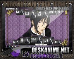 Sebastian Michaelis Pack Icons by Danrockster