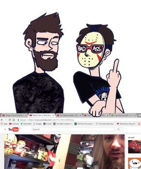 Delirious and Cartoonz || When The Camera's Off by CyberSingle