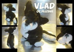 Vlad Plushie commission by eERIechan