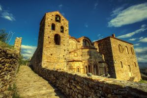 Greece - Mystras - 014 by GiardQatar