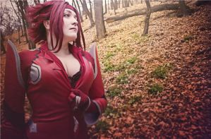 Code Geass. Kallen Kozuki. Mortal weapon by SarinaAmazon